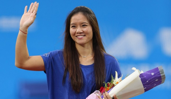 Li Na dévoile sa grossesse à Melbourne !