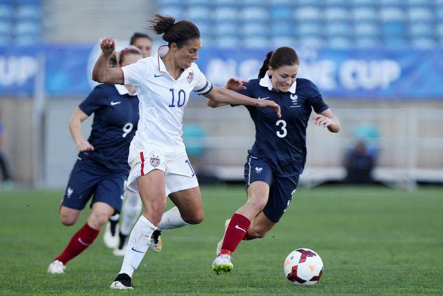 Foot f minin l 39 image est bonne mais l 39 int r t reste - Coupe du monde de football feminin ...