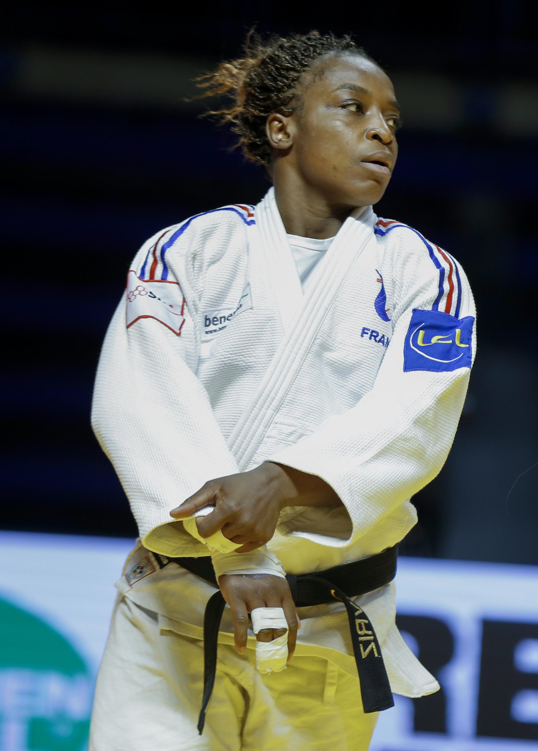 GÉVRISE EMANE (judo) Triple championne du monde, quintuple championne d'Europe, Médaillé de Bronze en 2012, cette année la française les mettra toutes au tapis.