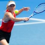 Maria Sharapova venait de gagner son premier tournoi depuis Rome en 2015. (c) Shutterstock / Jimmie48.