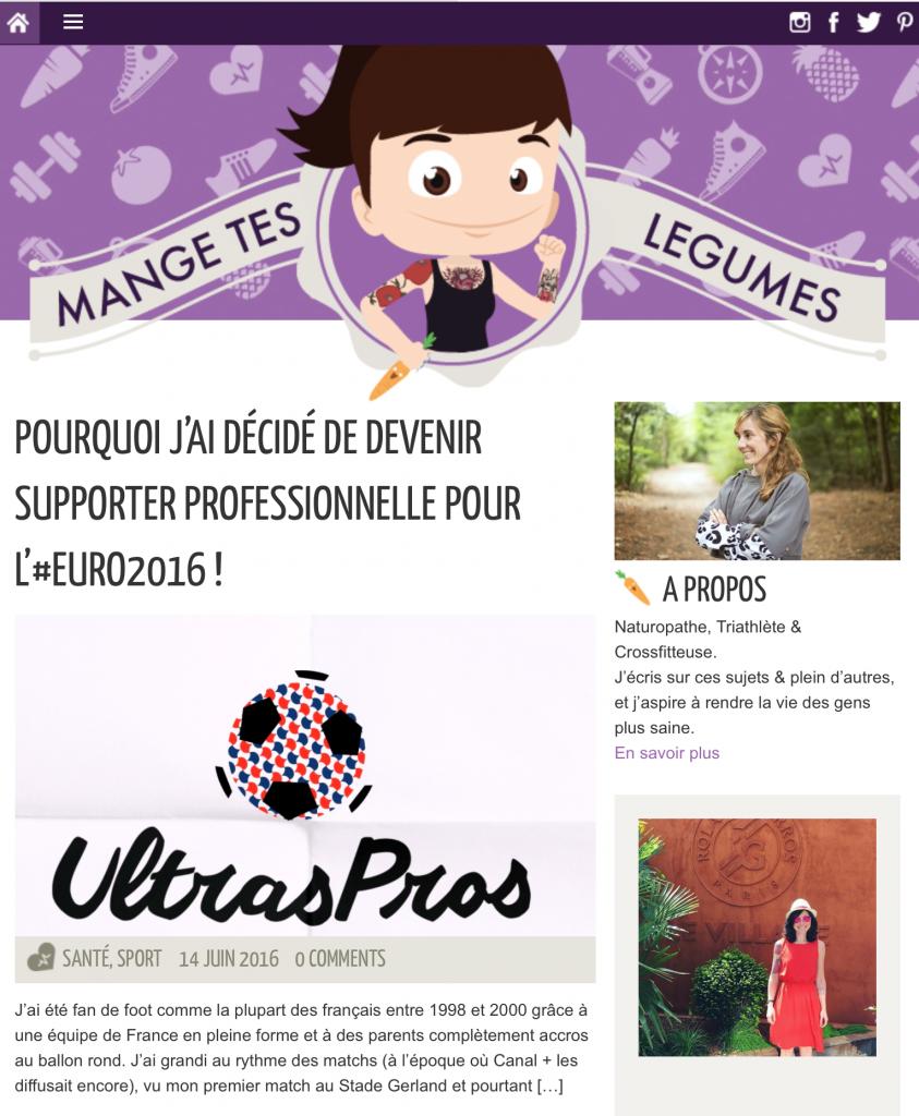 Le blog Fraîcheur et Running : MANGE TES LÉGUMES