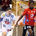 En Une de la newsletter Women Sports du mardi 12 décembre 2017, la rencontre France/Monténégro en quart de finale du Mondial 2017.