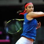 La Française Caroline Garcia n'a pas encore communiqué ses intentions pour la Fed Cup en 2018.