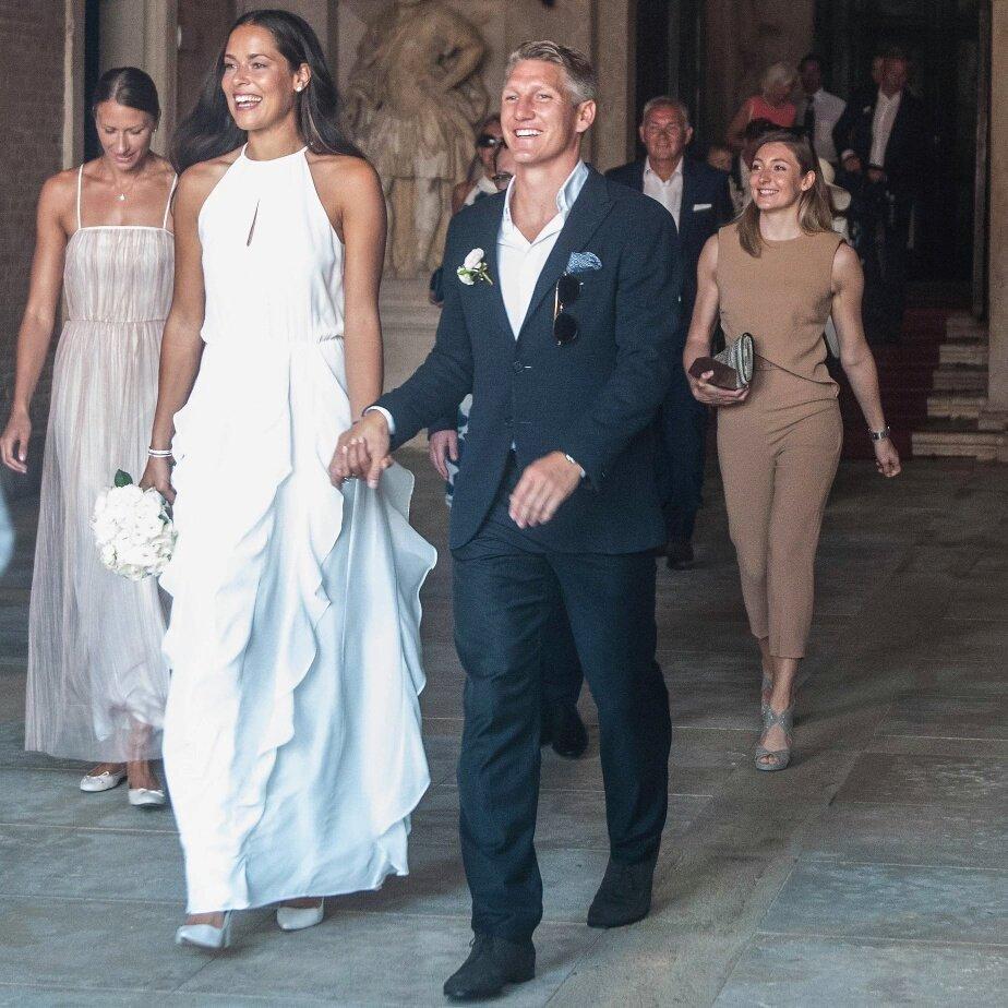 Ana Ivanovic et Bastian Schweinsteiger se sont mariés