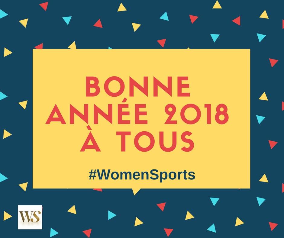 La newsletter Women Sports du mardi 9 janvier 2018
