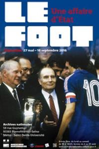 affiche expo Le foot 2016
