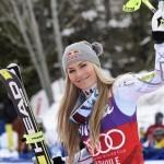 Après une saison compliquée sur retour de blessure, Lindsey Vonn consacrera l'hiver prochain aux Jeux Olympiques de Pyeongchang.
