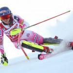 L'Américaine Mikaela Shiffrin a commencé sa moisson de médailles à PyeongChang.