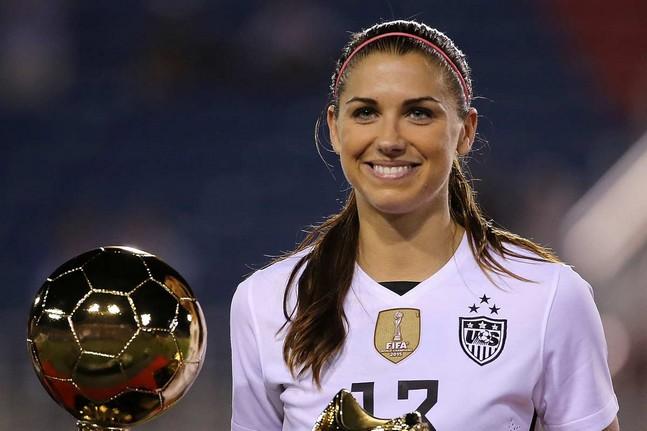 L'OL recrute Alex Morgan, la star du football féminin
