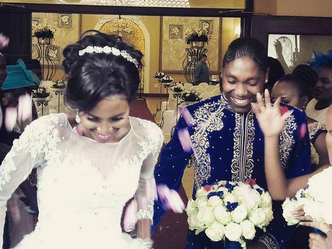 Caster Semenya s'est mariée