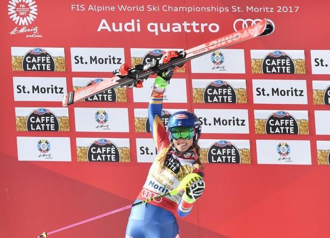 Mikaela Shiffrin remporte le combiné de Crans-Montana