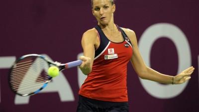 Pliskova dompte les éléments à Doha