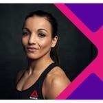 """Sarah Ourahmoune, nouvelle ambassadrice du programme """"Sport Pour Elles"""" de FDJ."""