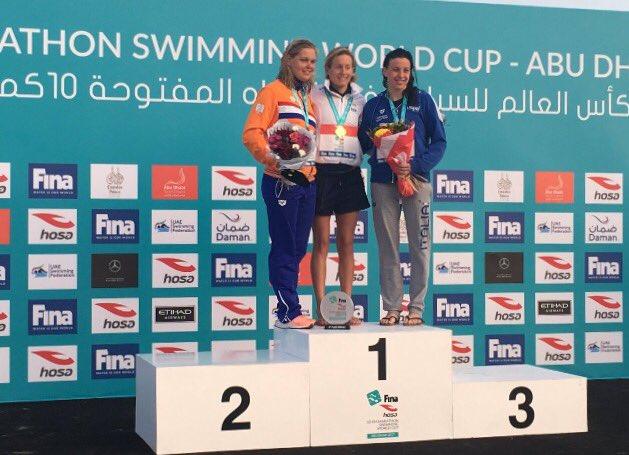 Aurélie Muller s'impose à Abou Dhabi