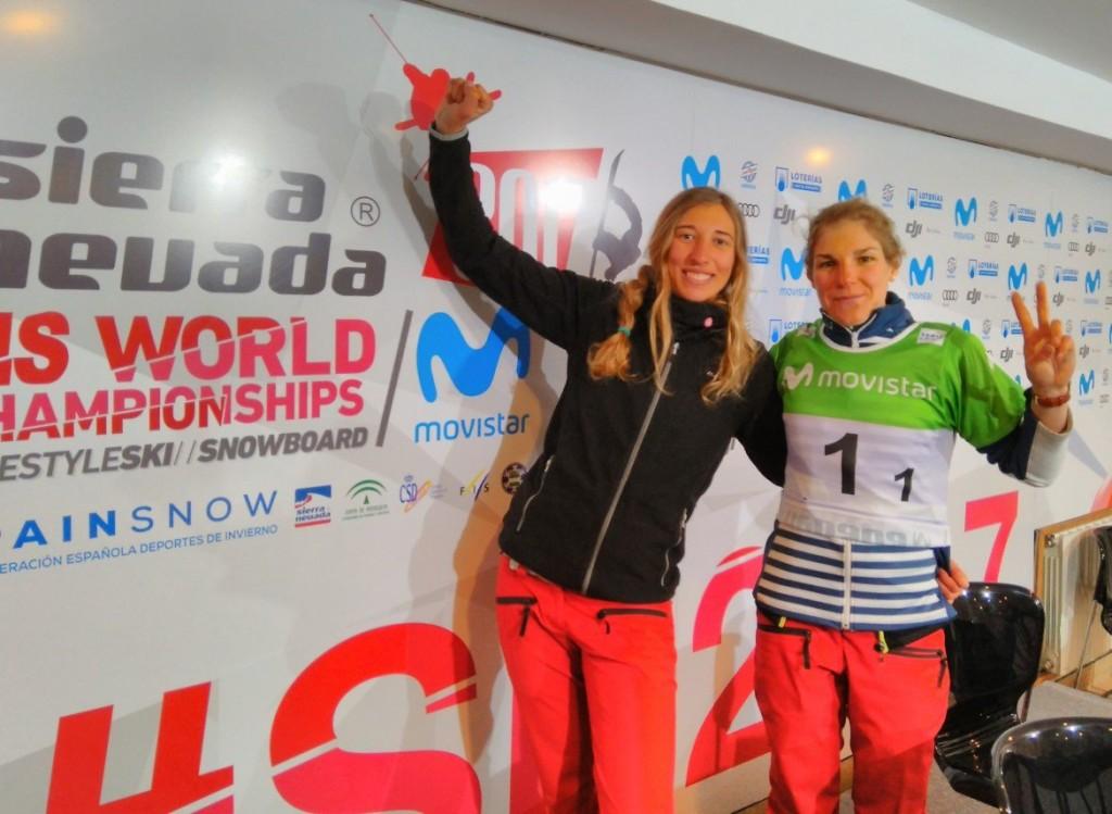 Snowboard: doublé des Bleues sur la Team Event