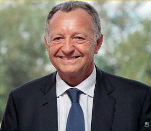 Jean-Michel Aulas, président de l'Olympique lyonnais.