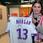 Alex Morgan, 27 ans, est l'une des plus grandes stars mondiales du football. Avec les États-Unis, elle a remporté les JO 2012 et la Coupe du monde 2015.