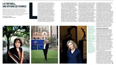 Le football, une affaire de femmes by Les Echos
