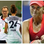 Les joueuses de l'Équipe de France de handball ont perdu face à la Norvège dans le cadre de la Golden League (à gauche), alors que Kristina Mladenovic a réalisé l'une des plus belles performances de sa carrière.