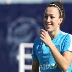 Lucy Bronze, buteuse du match retour pour Manchester City.