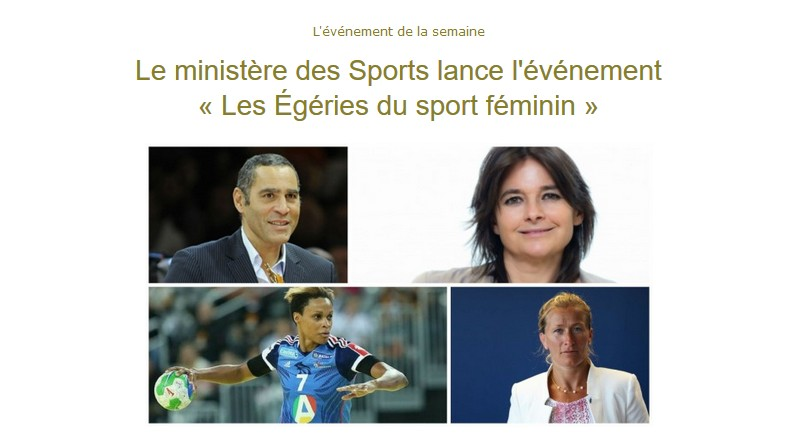 La newsletter Women Sports du 14 mars 2017