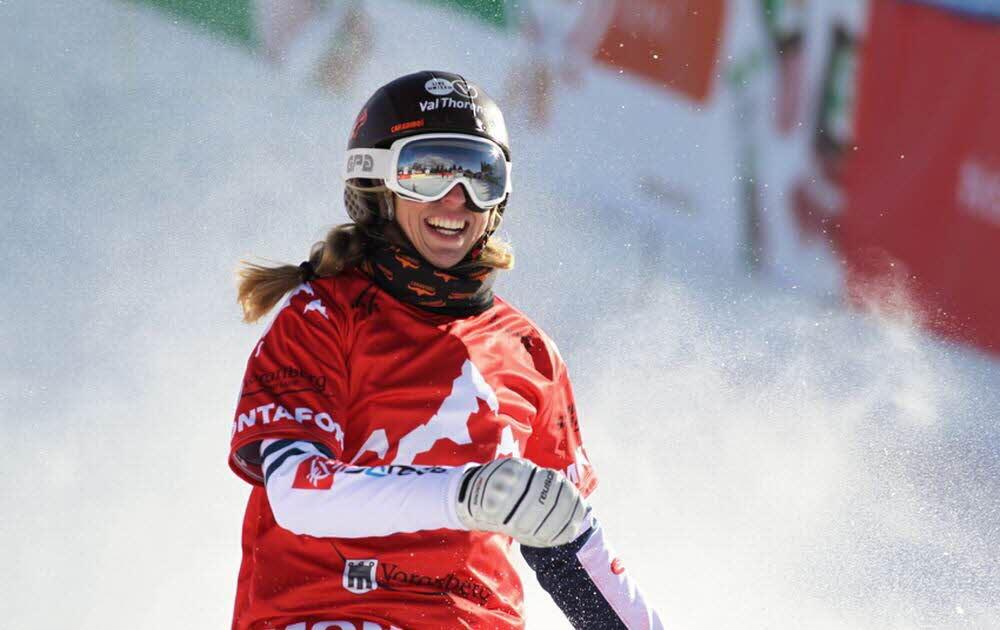 Chloé Trespeuch, vice-championne du monde de snowboardcross