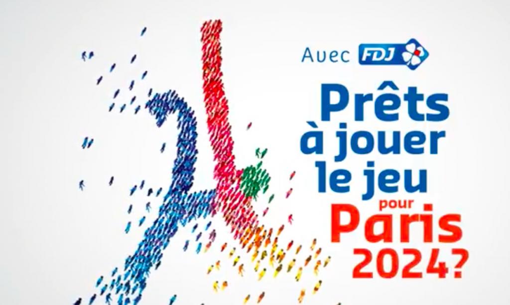 FDJ appelle les Français à « Jouer le Jeu » pour Paris 2024