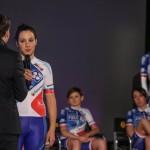 Roxane Fournier est une des leaders de l'équipe cycliste FDJ - Nouvelle Aquitaine - Futuroscope 2017.