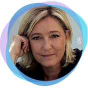 A la Une - Rions un peu - Marine Le Pen