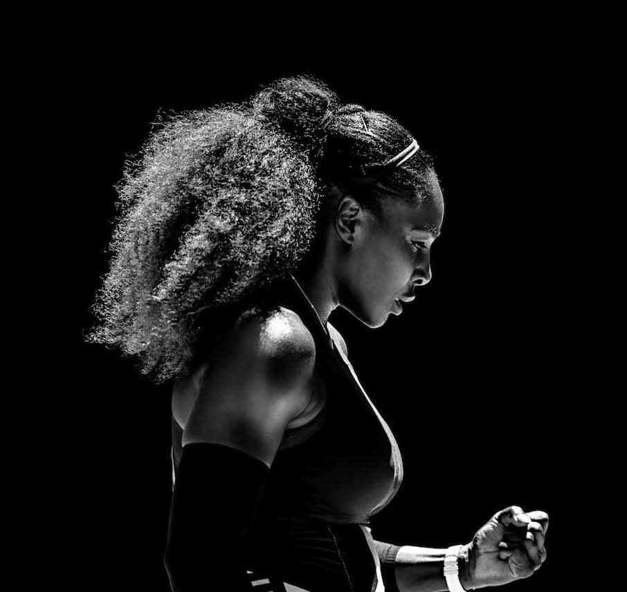 Serena Williams, athlète sponsorisée par Nike.