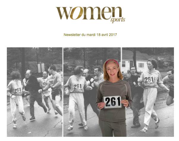 La newsletter Women Sports du mardi 18 avril 2017