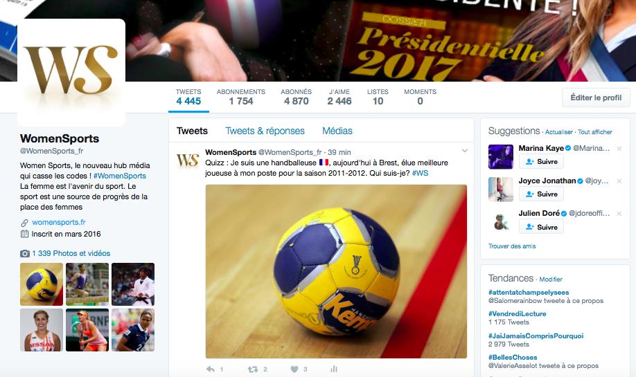 Le top tweets de la semaine : des sportives connectées qui font cliquer !