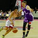 Amel Bouderra est dans l'équipe LFB de Charleville-Mézières depuis la saison 2010-2011.