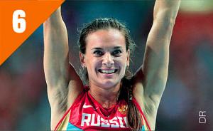 Championnes - Yelena Isinbayeva