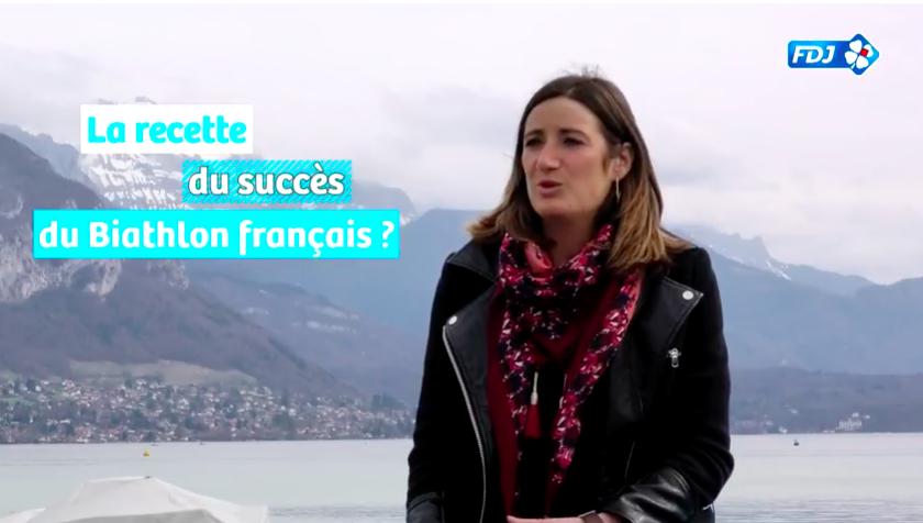 Pour Marie-Laure Brunet, le biathlon ne fait pas de différence hommes/femmes