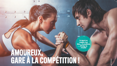 Sport en couple: amoureux, gare à la compétition !