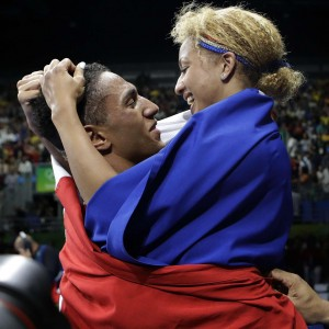 Estelle Moselly et Tony Yoka II