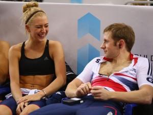 Laura Trott et Jason Kenny (CyclismeII)