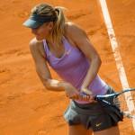 Maria Sharapova participa au tournoi WTA de Toronto grâce à une invitation des organisateurs.