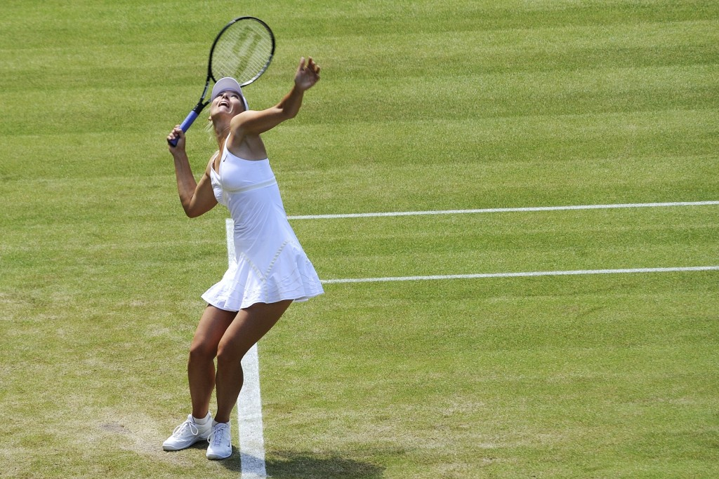 [Wimbledon 2018]Sharapova tombe de haut