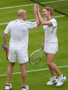 Steffi Graf et André Agassi (Tennis)