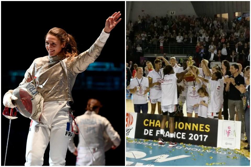 Le top 5 de la semaine: les sabreuses françaises médaillées à Tunis
