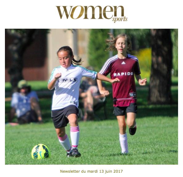 La newsletter Women Sports du mardi 13 juin 2017