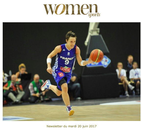 La newsletter Women Sports du mardi 20 juin 2017