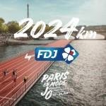 Depuis le début de l'année, FDJ montre son soutien à la candidature de Paris pour accueillir les Jeux d'été 2024 à travers le #JouerLeJeu.