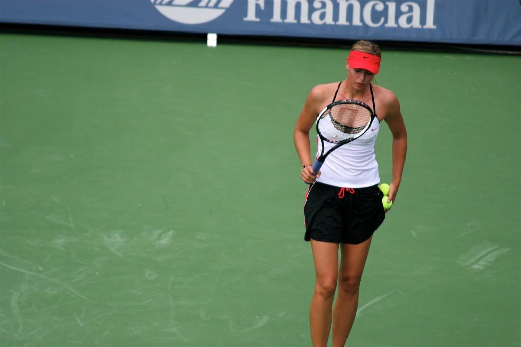 Sharapova invitée pour le tournoi de Stanford