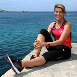 «Lorsque je ne fais pas de sport, je me sens moins performante». Nathalie Simon © Franck Pennant