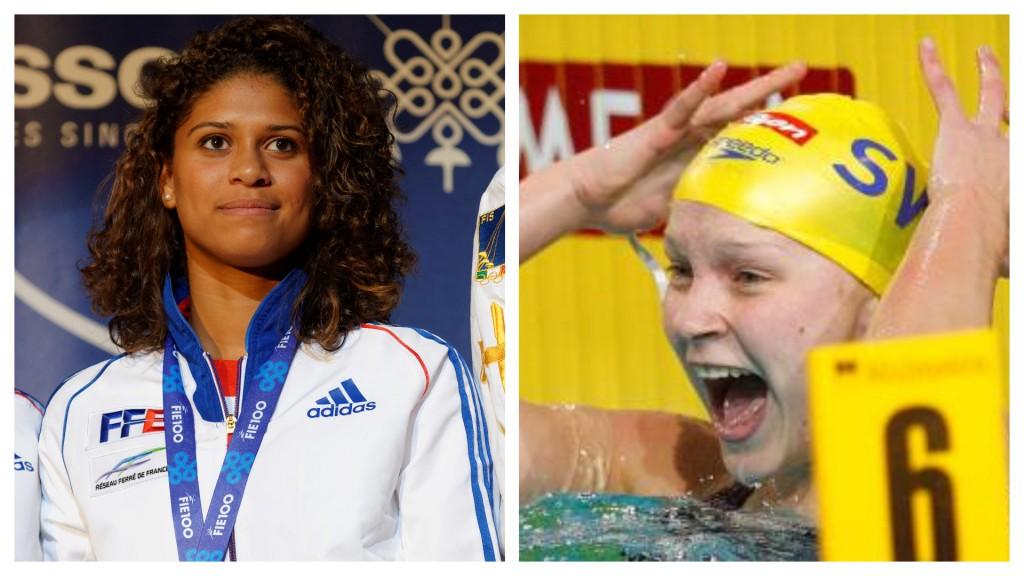 Le top 5 de la semaine: des nageuses et escrimeuses au top niveau!