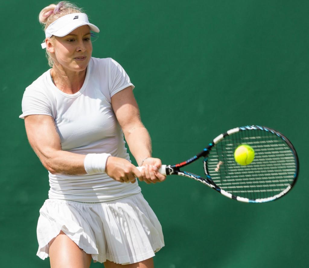Wimbledon: Blessée au genou, Mattek-Sands appelle à l'aide recroquevillée de douleur sur le court