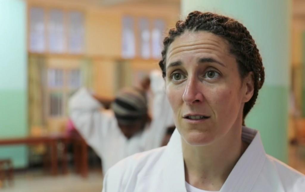 La karatéka Laurence Fischer aide les femmes violées du Congo à se reconstruire